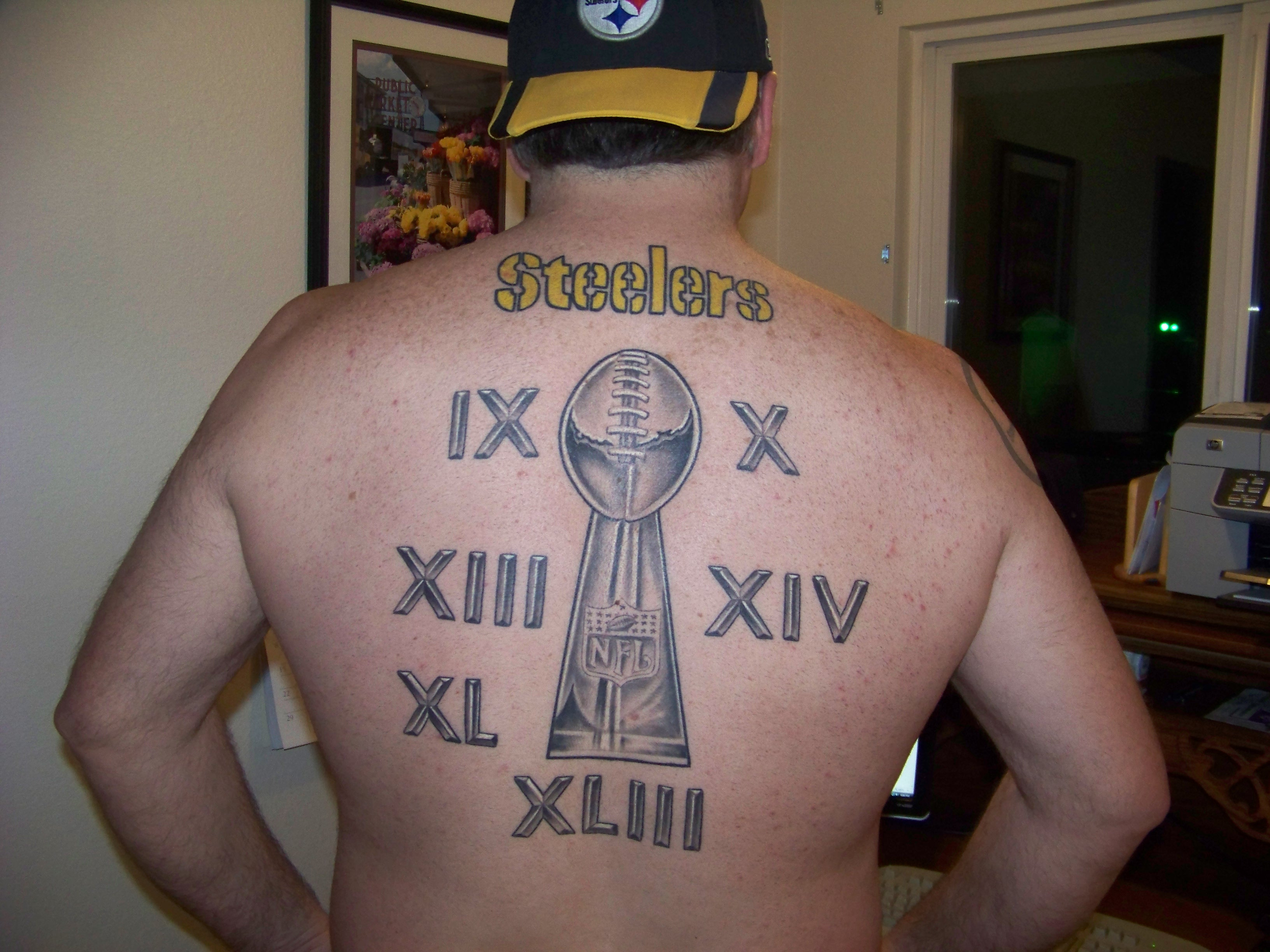 The art of the tat fan submissions for Nfl tattoos gallery
