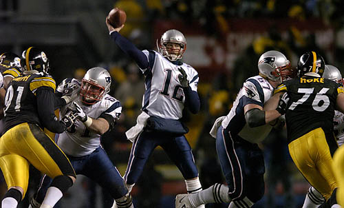 AFC Championship Game 2004 Patriots vs Steelers - YouTube