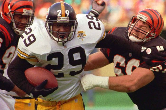 a5a3f8620 A Tip of the Cap to former Steelers RB Barry Foster and His 1992 Season