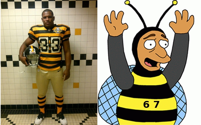 new concept 6108a 6972a Steeler Nation All A BUZZ Over New Throwback Uniforms