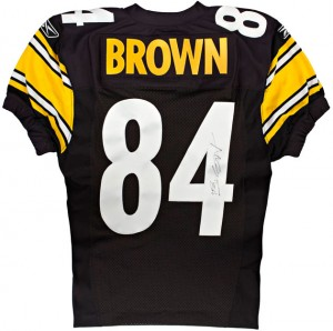 Antonio Brown s game jersey for his NFL ... f6886c33e