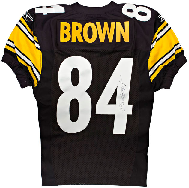 Steelers Antonio Brown Already In Canton