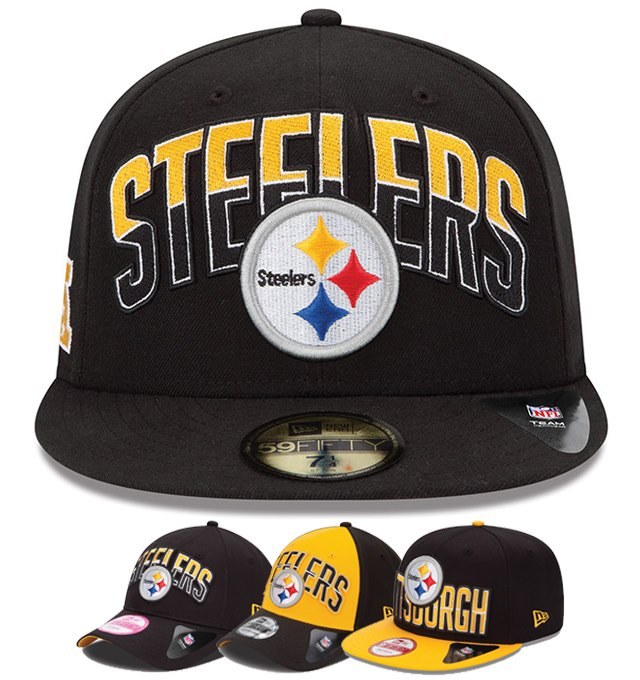 Pittsburgh Steelers New Era 2013 Draft Caps fe024f70bfd