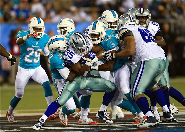 36860c8a712 Aug 4, 2013; Canton, OH, The Miami Dolphins once had iconic uniforms but  heir new look this year is eerily similar to the Portland Breakers of the  now ...