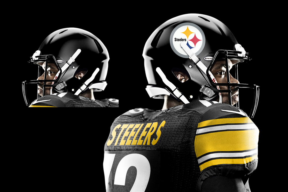 2574099e6 Pittsburgh Steelers Uniform Re-design From Alkire