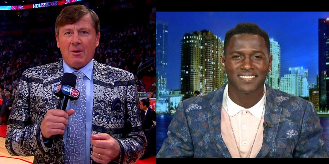 Who Wore It Better: Pittsburgh Steelers Brown Or Craig Sager?