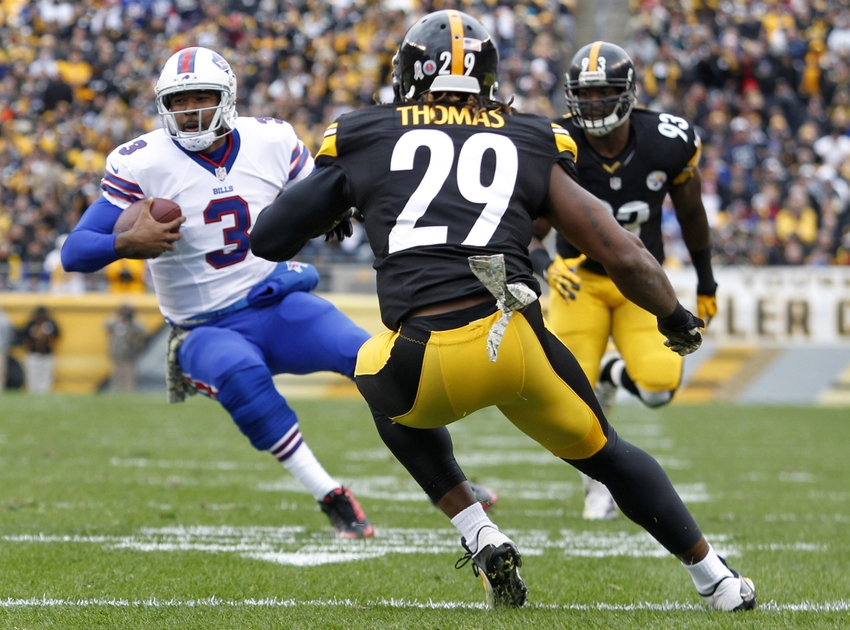 Pittsburgh Steelers Shamarko Thomas Working Out With Jesus