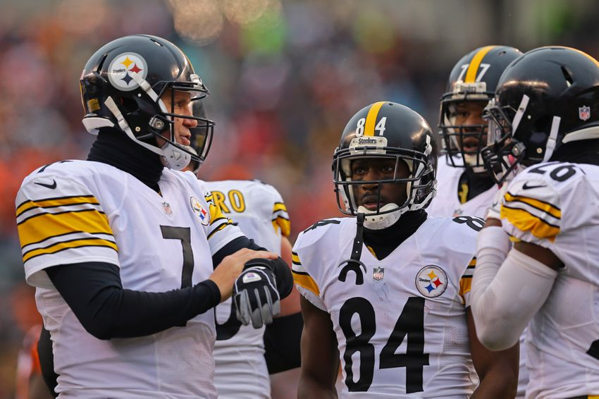 Steelers News Le Veon Bell Chris Boswell Antonio Brown