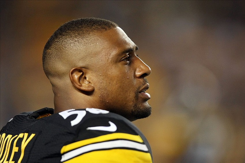 92fc712372e Pittsburgh Steelers LaMarr Woodley Victim Under New Rules