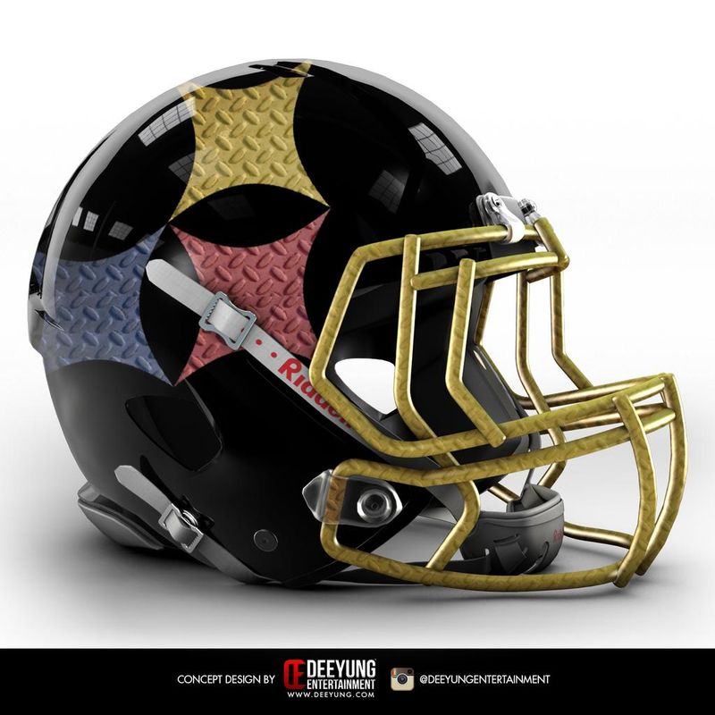 b2982fa7b91 Steelers Concept Helmet  Futuristic And Full Of Awesome