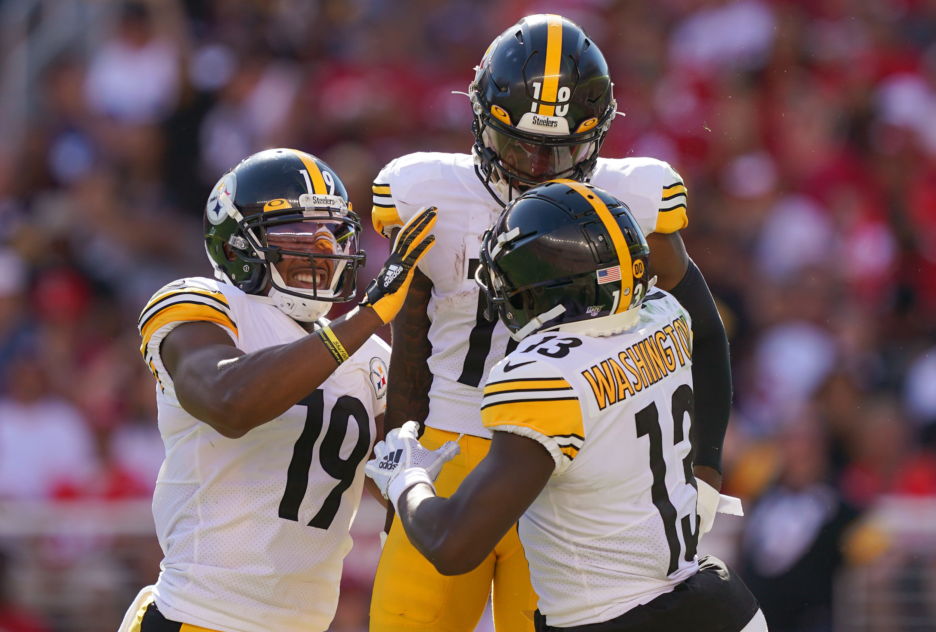 Steelers trio of wide receivers could 'reshape the NFL'