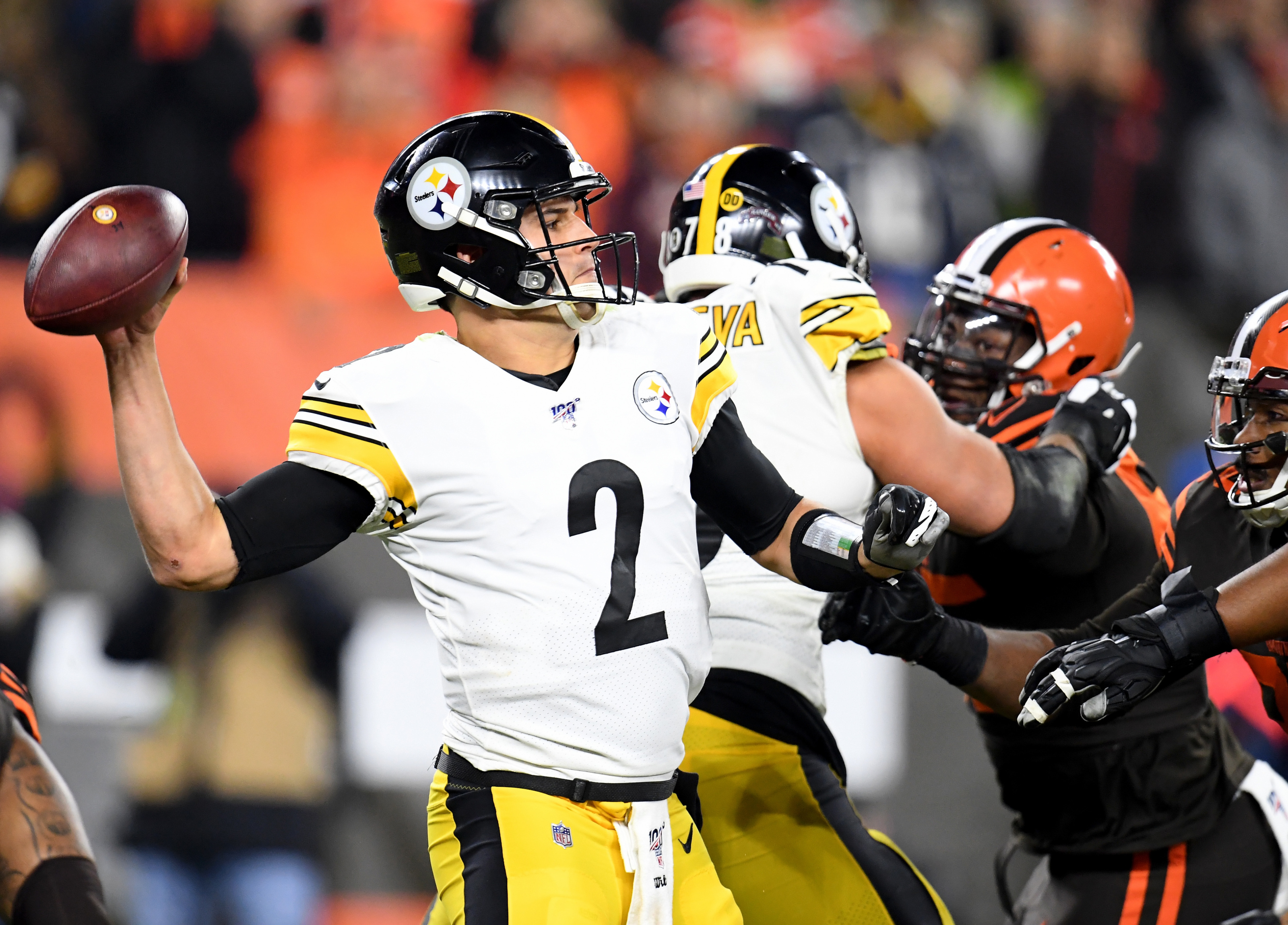 Steelers Mason Rudolph Currently The Worst Graded Starting Quarterback