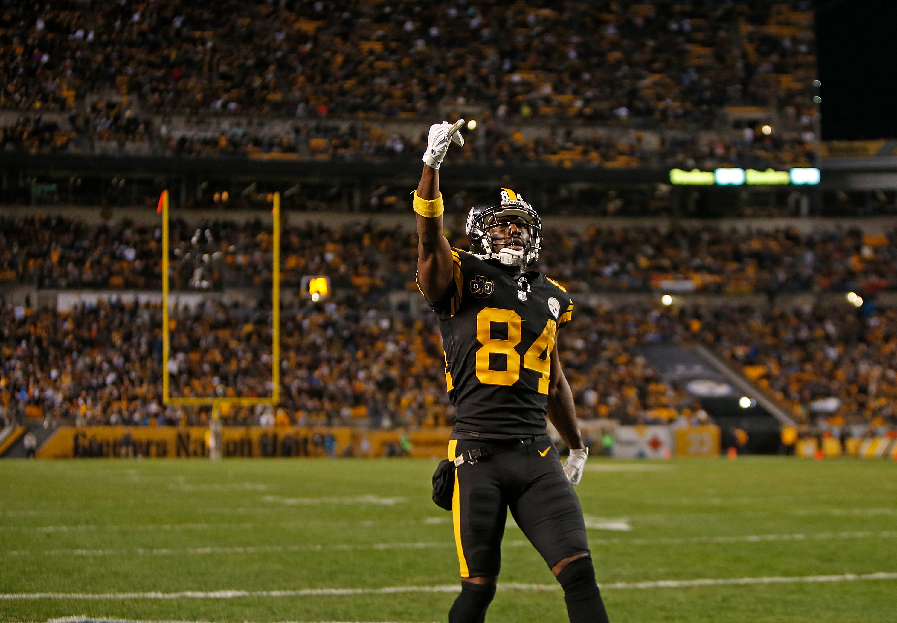 Pittsburgh Steelers Can Antonio Brown finish the best WR ever